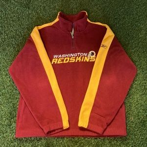🏈Washington Redskins 1/4 Zip Fleece